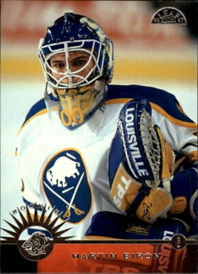 1996-97 Leaf Martin Biron Rookie