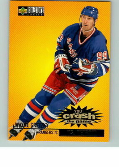 1997-98 COLLECTORS CHOICE CRASH THE GAME WAYNE GRETZKY #C1