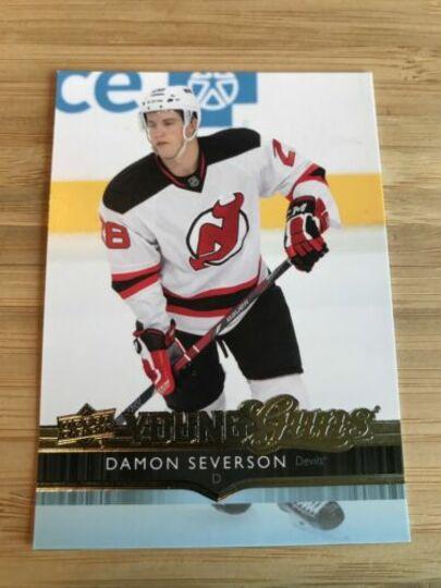 2014-15 Upper Deck Damon Severson Young Guns