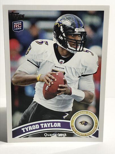 2011 Tyrod Taylor Topps RC #14