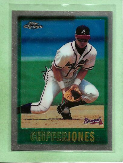 Jones, Chipper Topps Chrome 97