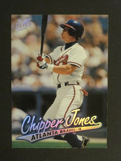 Jones, Chipper 1997 Fleer Ultra 154