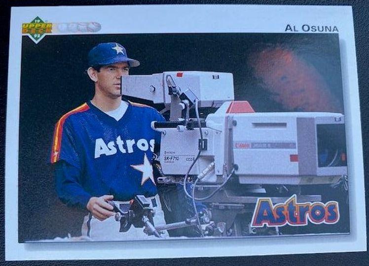 1992 Upper Deck Astros Al Osuna 259