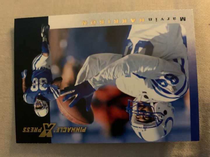 1997 Pinnacle Press Marvin Harrison 111
