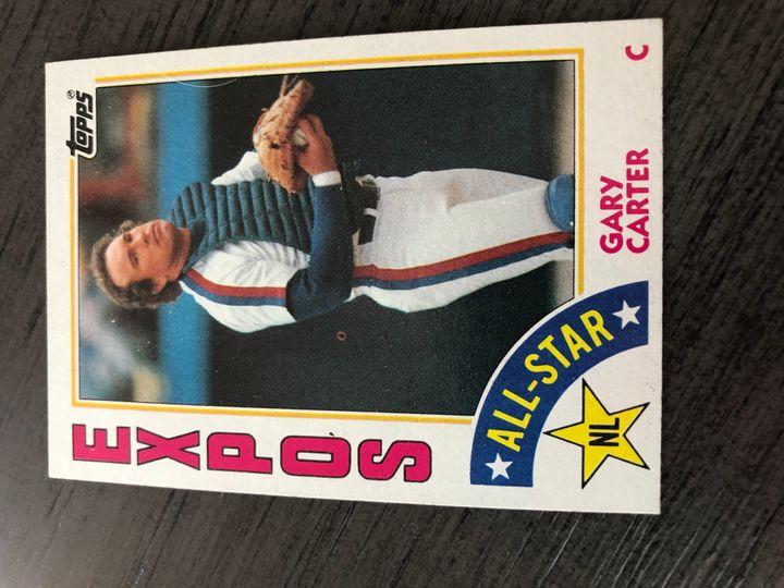 1984 TOPPS GARY CARTER 393