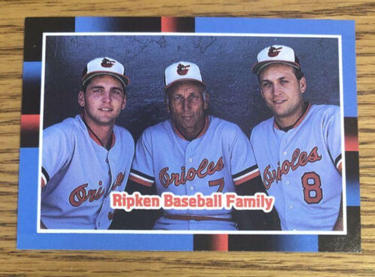 1987 Leaf  Ripken Baseball Family #625