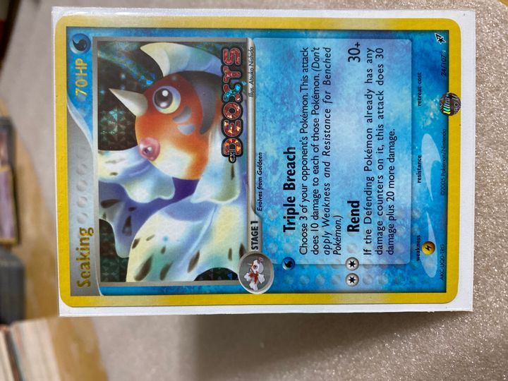 seaking 24/107 holo deoxys
