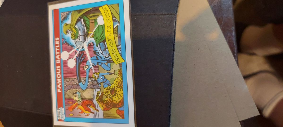 1990 marvel fantastic four vs doctor doom
