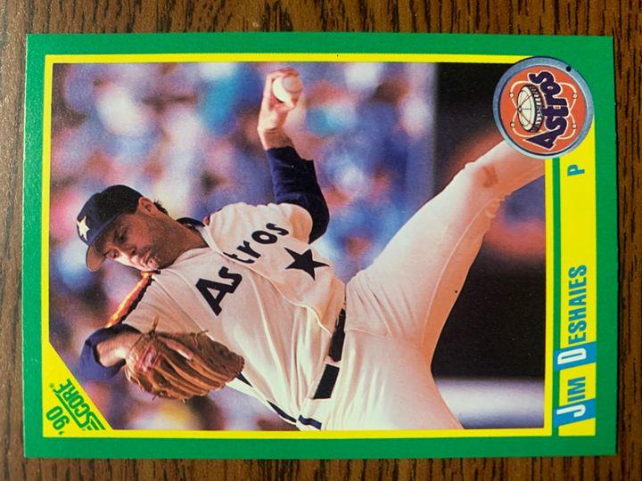 1990 Score Jim Deshaies 154
