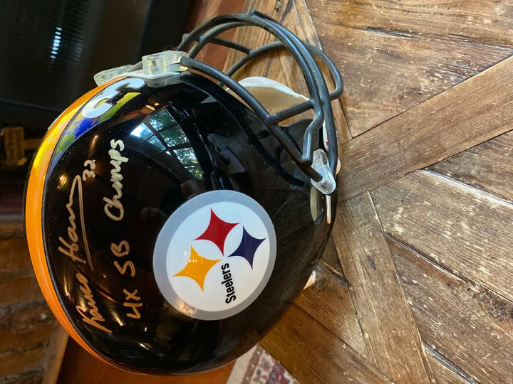 Signed football helmets Collection Image