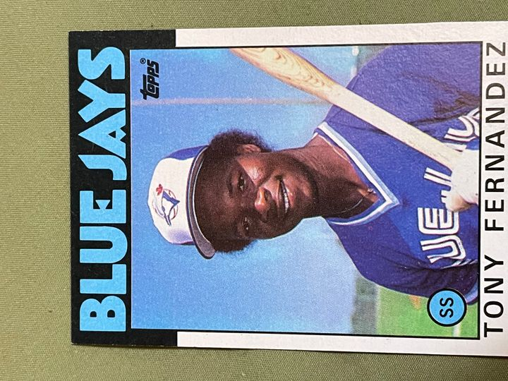 1986 Topps Base Collection Image