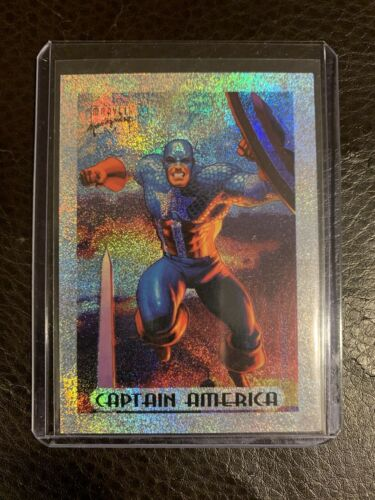 1994 Marvel Masterpieces Series 3 Holofoil Chase Card #1 NM! Captain America