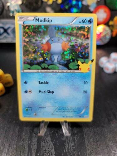 Pokemon 2021 McDonald's 25th Anniversary Promotion #19/25 Mudkip Holographic