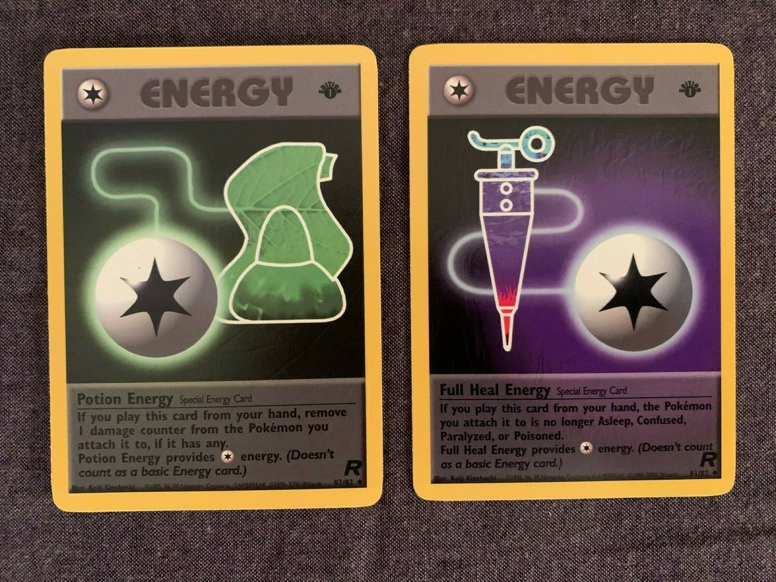 Pokemon Team Rocket-First Edition//82 Heal Energy English
