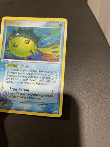 Qwilfish 27/109 Team Rocket Returns Rare Stamped Holo Pokemon TCG 2004 NM - Image 6