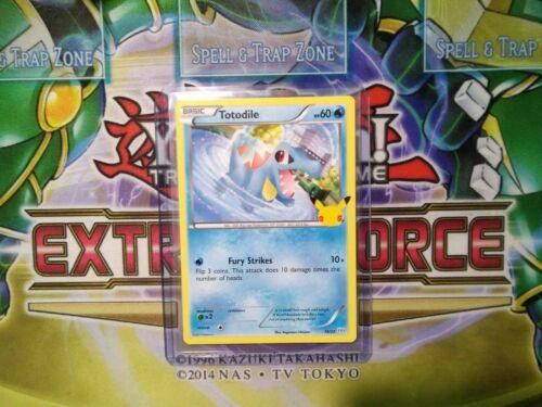 Pokemon: Totodile 18/25 - Non Holo  - Mcdonald's Promo 25th Anniversary - *M-NM