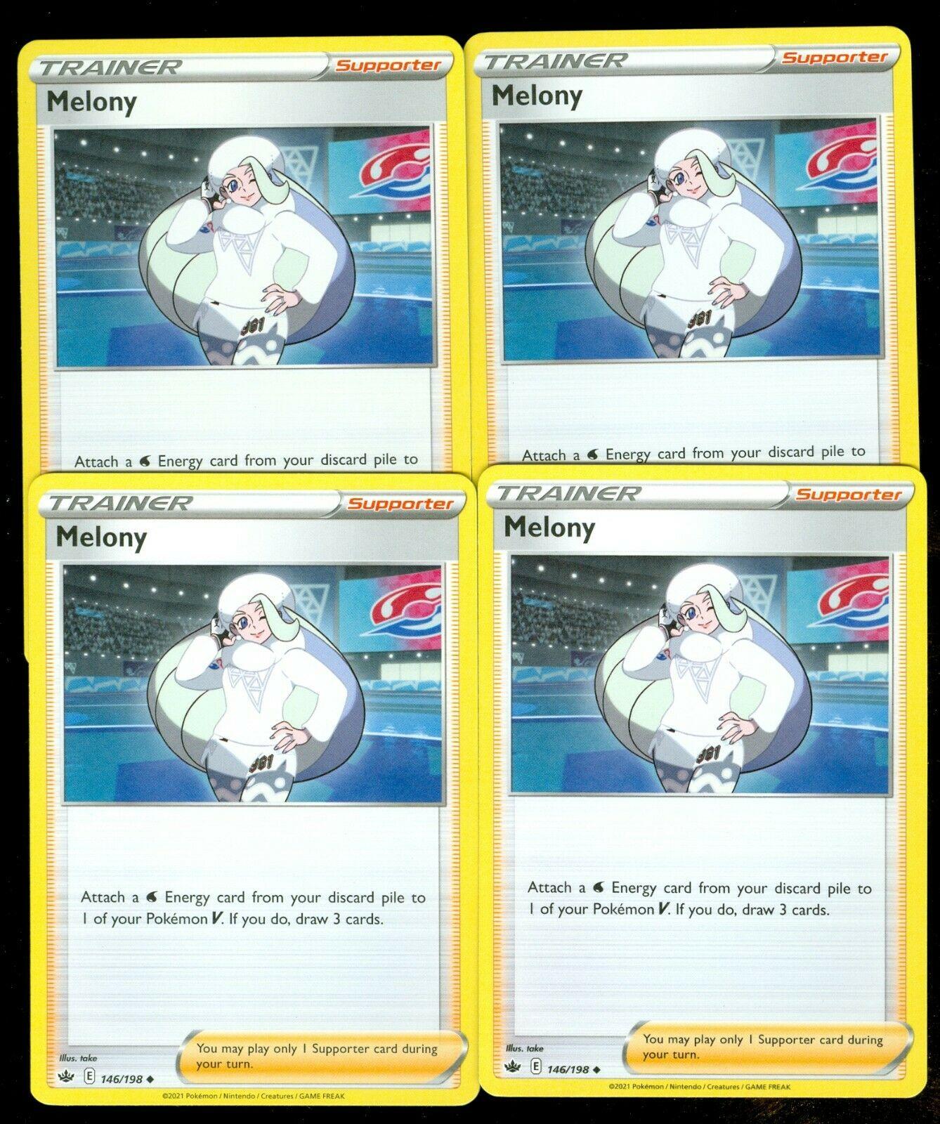 Pokemon MELONY 146/198 Chilling Reign - - MINT 4X