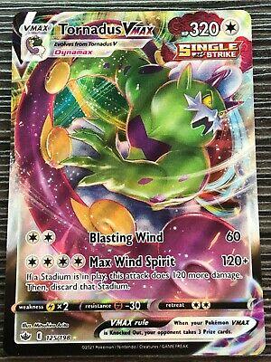 Pokemon : SWSH CHILLING REIGN TORNADUS VMAX 125/198 ULTRA RARE