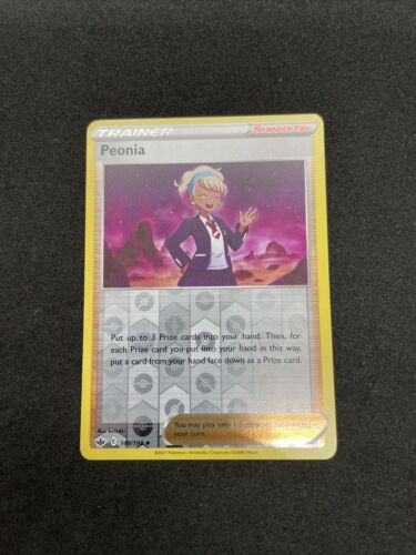 Peonia 149/198 Reverse Holo Uncommon Chilling Reign Pokemon Card