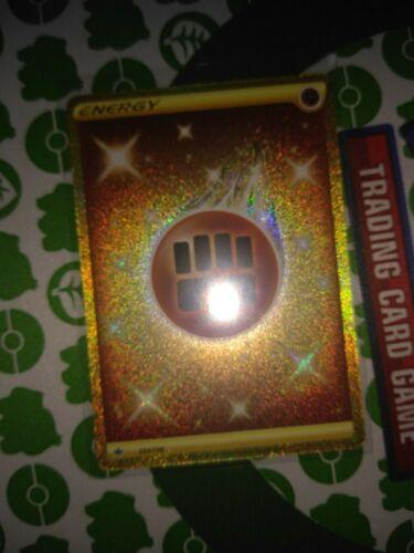 Pokemon Fighting Energy 233/198 Gold Secret Rare Chilling Reign - Image 3