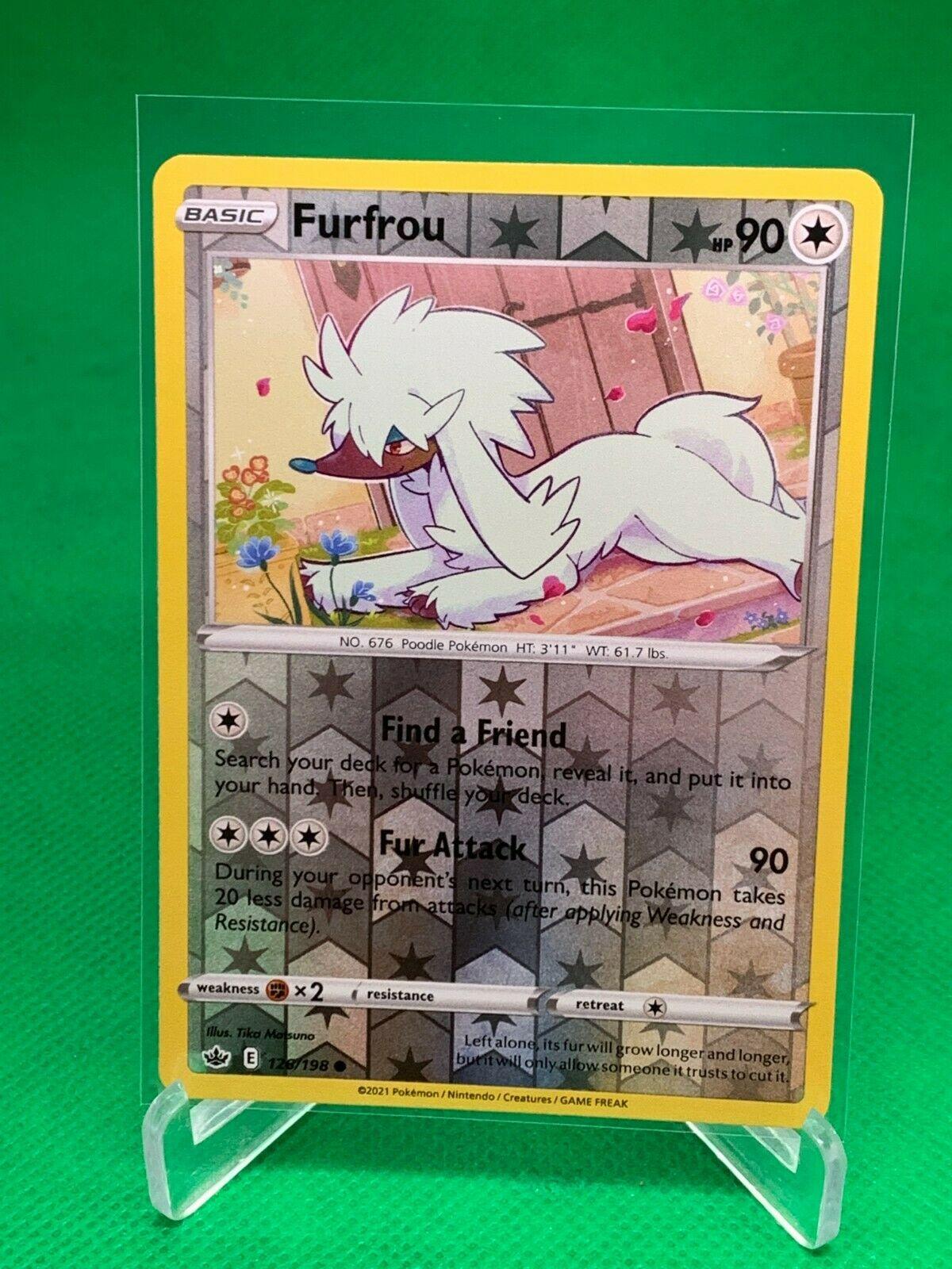 Pokemon - Furfrou - Chilling Reign - 126/198 - Reverse Holo