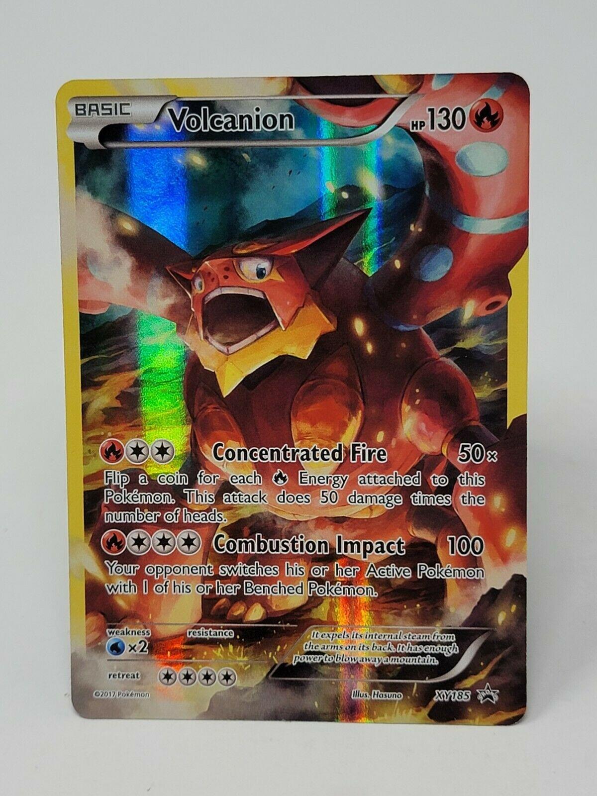 Pokemon Volcanion Magearna Full Art Black Star Promo Card 2x Lot