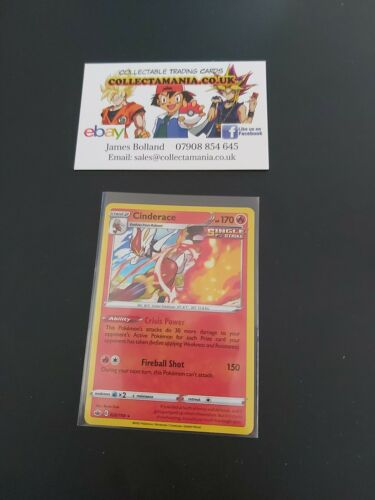Pokemon Card Cinderace 028/198 Chilling Reign Set - Holo