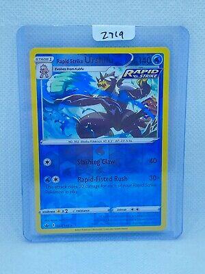 Pokémon TCG Rapid Strike Urshifu Reverse Holo 044/198   Chilling Reign  