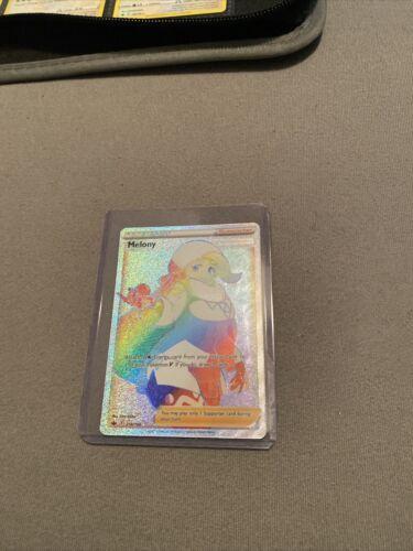 Pokemon Chilling Reign Melony Rainbow Full Art Secret Rare 218/198