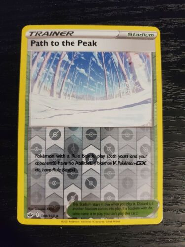 Path to the Peak 148/198 Chilling Reign Reverse Holo Pokemon Card NM