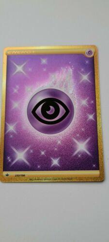 Pokemon - Psychic Energy - Chilling Reign - 232/198 - Secret Rare - NM