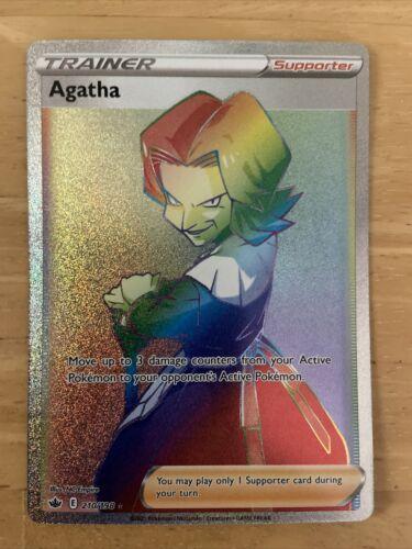 Agatha rainbow 210/198 chilling reign