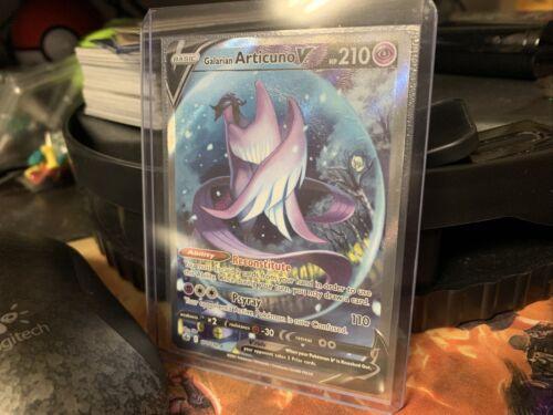 Pokemon Galarian Articuno V Ultra Rare Full Art - Chilling Reign 170/198 MC