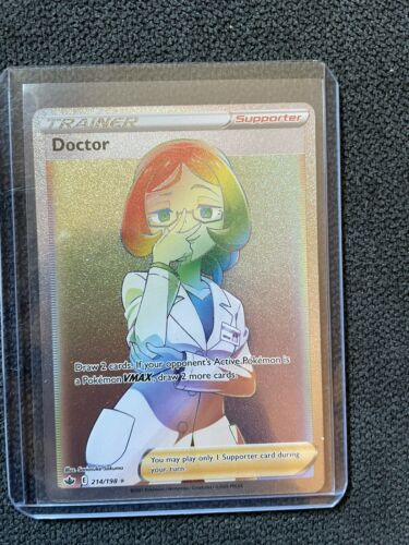 Doctor 214/198 - Chilling Reign - Pokemon TCG Card - NM - Image 3