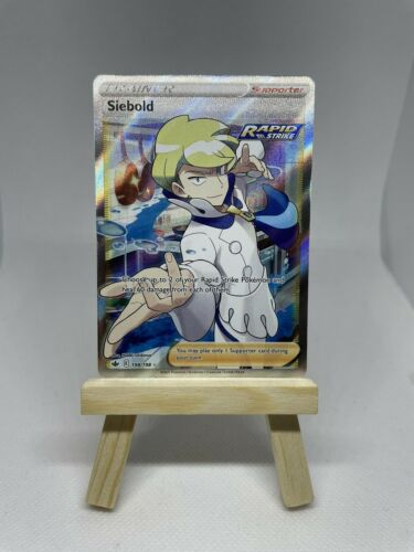 Siebold V 198/198 Full Art- Fresh Pull- Chilling Reign Pokemon card