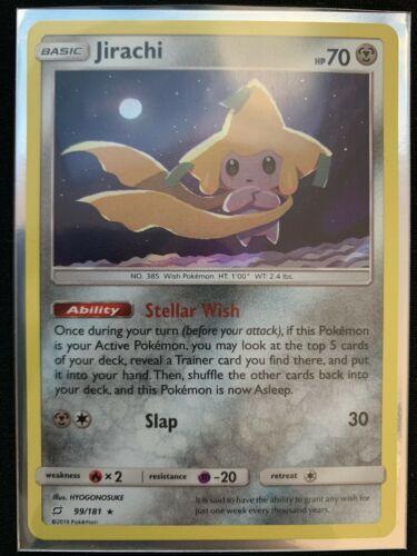 Pokemon - Jirachi 99/181 Rare Holo Team Up - Image 1
