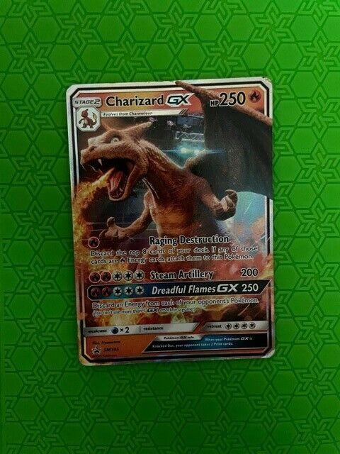 pokemon card: charizard gx SM195 - Image 1