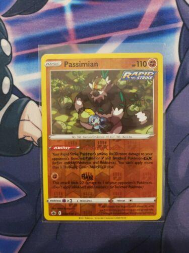 Pokemon Passimian 088/198 Reverse Holo Rare Chilling Reign Near Mint