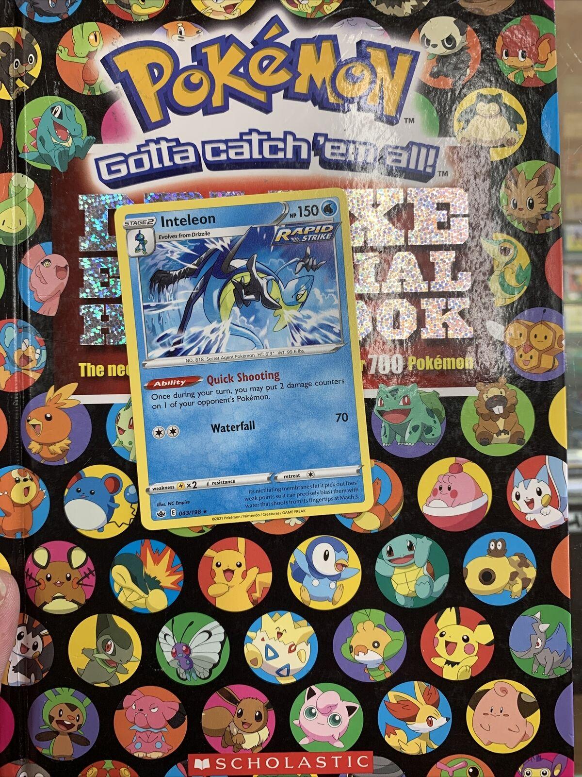 Pokemon : SWSH CHILLING REIGN INTELEON 043/198 RARE NON HOLO