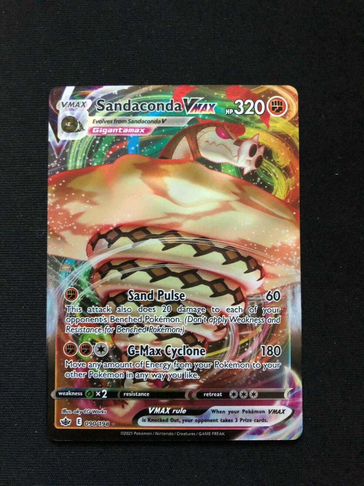 Pokemon Sandaconda Vmax 090/198 - Chilling Reign - NM/M