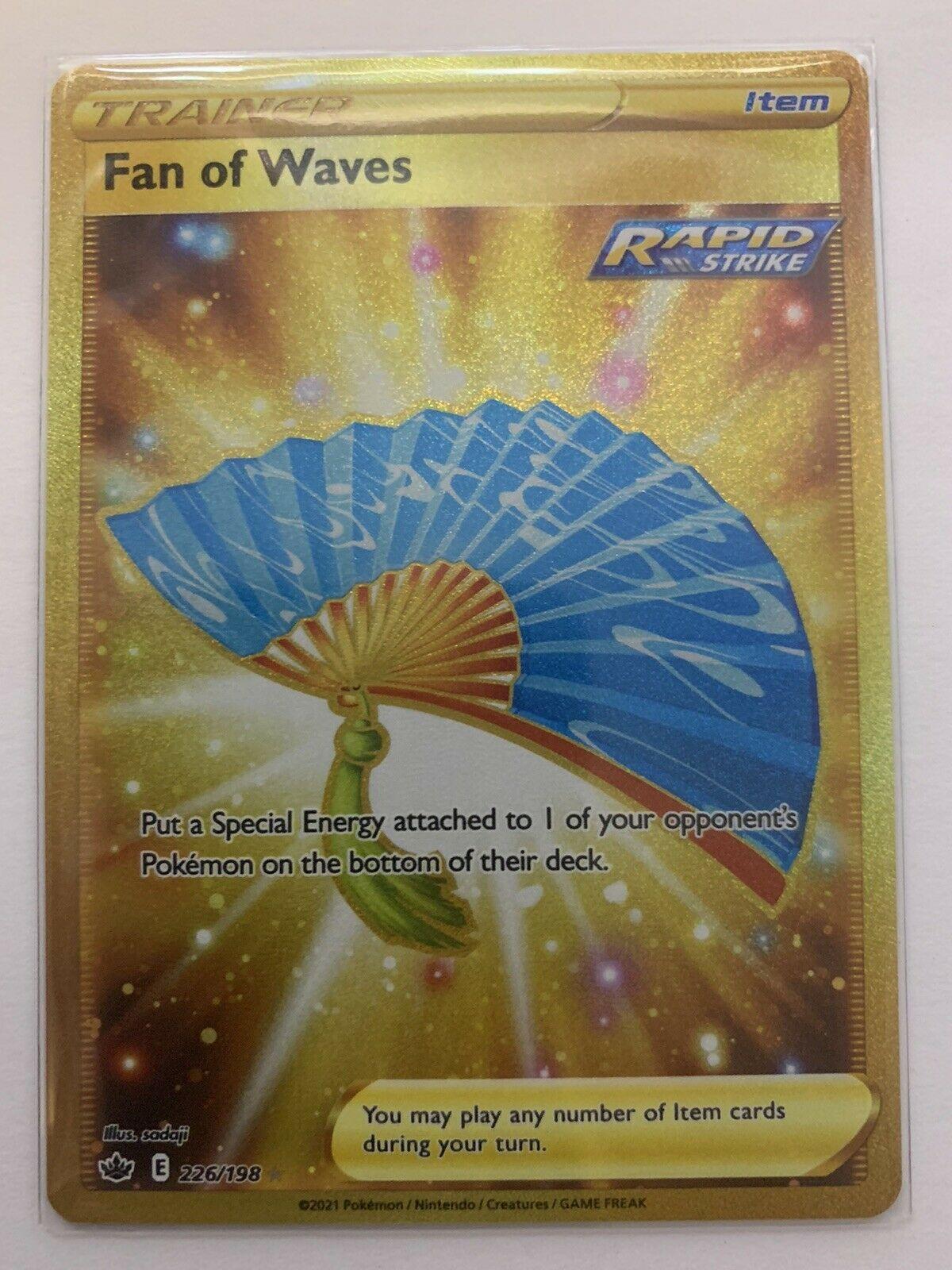❄️👑 Chilling Reign | Pokémon | Fan Of Waves | 226/198 | Secret Rare | NM/M ❄️👑