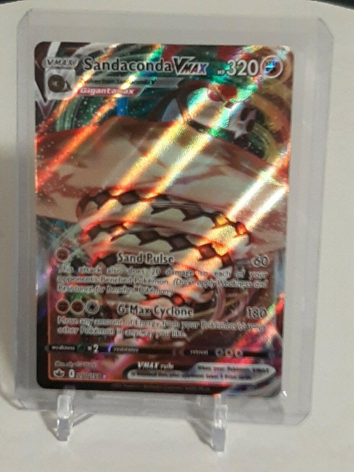 Sandaconda VMAX - 090/198 - Full Art - SW&SH: Chilling Reign - Pokemon Card