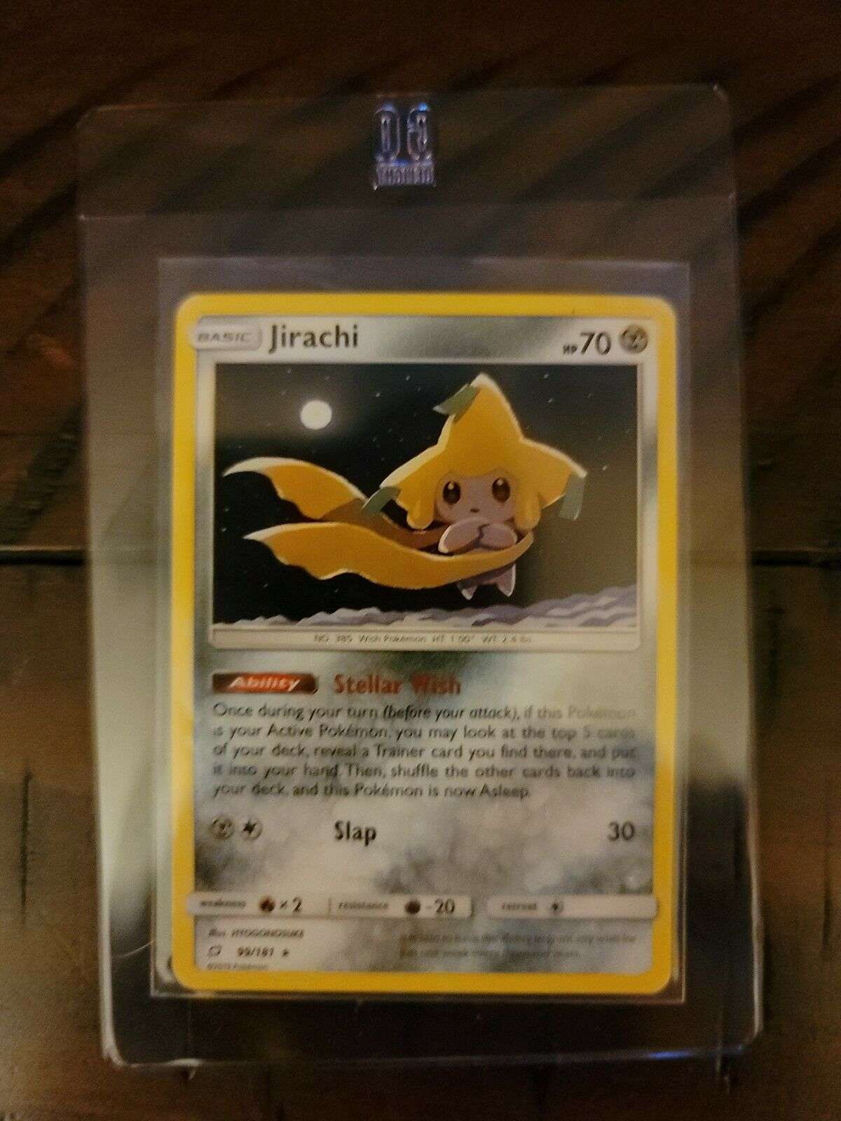 Jirachi 99/181 Pokemon Card Rare Theme Deck Exclusive Non-Holo S & M Team Up NM