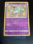 Galarian Rapidash SV048/SV122 Shining Fates Shiny Holo Rare Pokemon Card NM-M