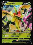 ⭐ Flapple V (018/163) Pokemon Holo Ultra Rare Battle Styles Pokémon Card 18/163