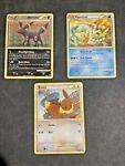 Umbreon Pokemon HGSS Undaunted Card - Eevee Vaporeon 10/90 41/99 47/90 -