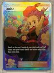 Pokémon Unbroken Bonds Janine 210/214 Full Art Trainer Mint