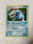 Pokemon Feraligatr - 8/123 Mysterious Treasures Holo Rare EX NM