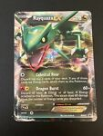 Pokemon Card Holo Rare Full Art Black & White Rayquaza EX BW47 Black Star Promo