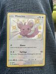 Pokemon Shining Fates Minccino Shiny Rare Holo SV093/SV122 NM